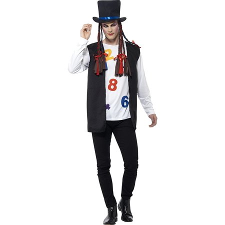 Boy George Adult Costume Culture Club Pop Music Karma Chameleon 80's - Chameleon Costume