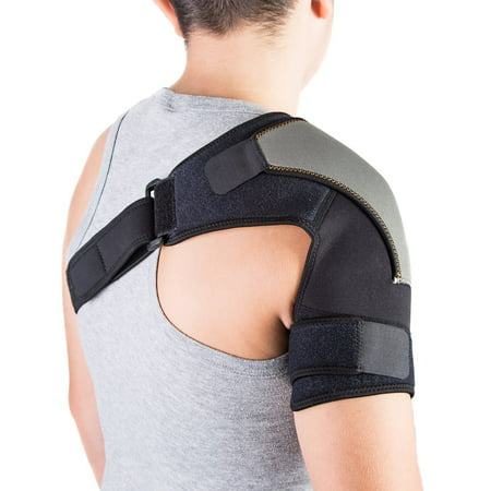 - Shoulder Brace for AC Joint & Tendinitis | Shoulder Support for Pain Relief & Injury Prevention | Compression Shoulder Ice Pack | Single Shoulder Support Rotator Cuff Brace for Women & Men by Astorn