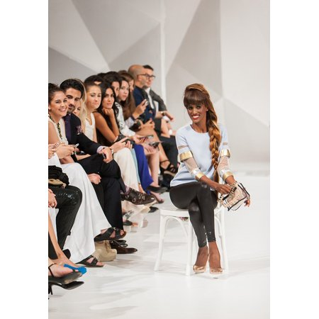 Canvas Print Style Fashion Fashion Show Model Catwalk Female Stretched Canvas 10 x 14