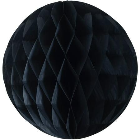 10 IN HONEYCOMB TISSUE BALL BLACK 10 Cent Golf Balls