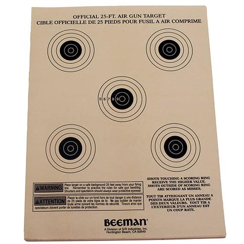 Beeman Paper Targets (Per 25) SKU: 2099 with Elite Tactical Cloth by Beeman