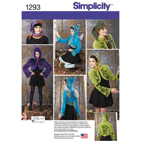 Simplicity Undefined Accessories 14 16 18 20 22