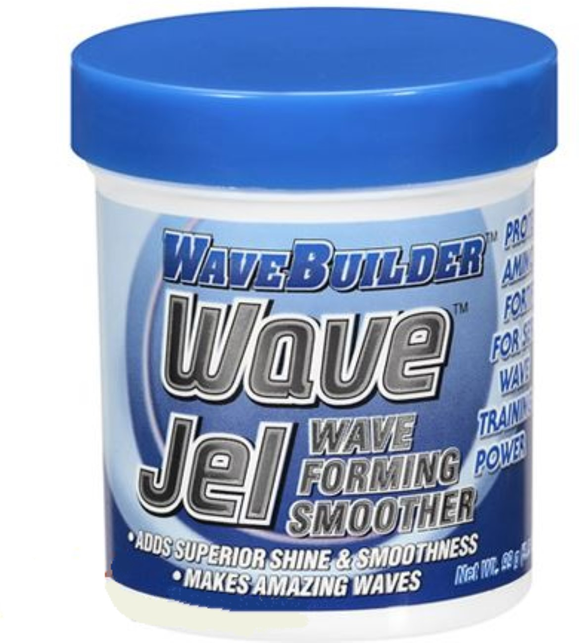 WaveBuilder Wave Jel Smoother Wave Forming Smoother, 3 oz (Pack of 4)