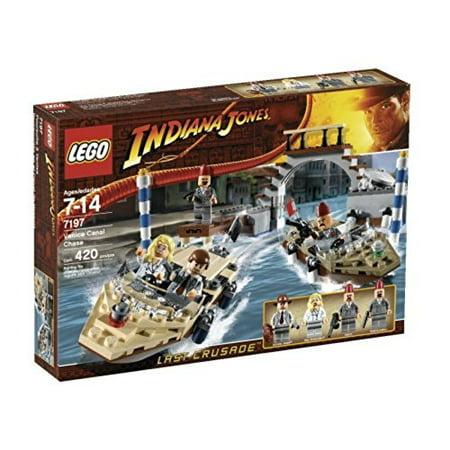 LEGO Indiana Jones Venice Canal Chase Set #7197 (Lego Indiana Jones Last Crusade Level 1)