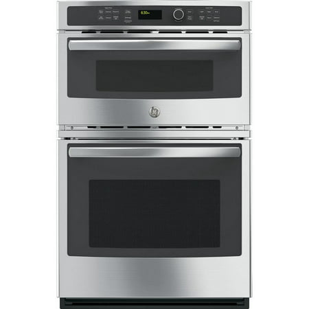 PK7800SKSS 27 Built-in Combination Double Wall Oven/Microwave 4.3 cu. ft. Oven Capacity 1.7 cu. ft. Microwave Capacity Steam Self-clean option True European Convection & Touch controls