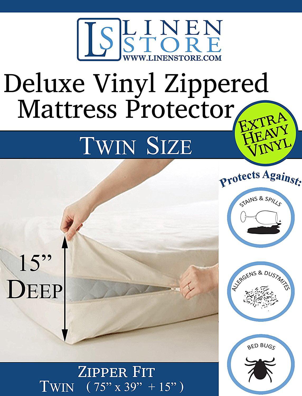 Heavy Duty Pvc Vinyl Mattress Protector Cover