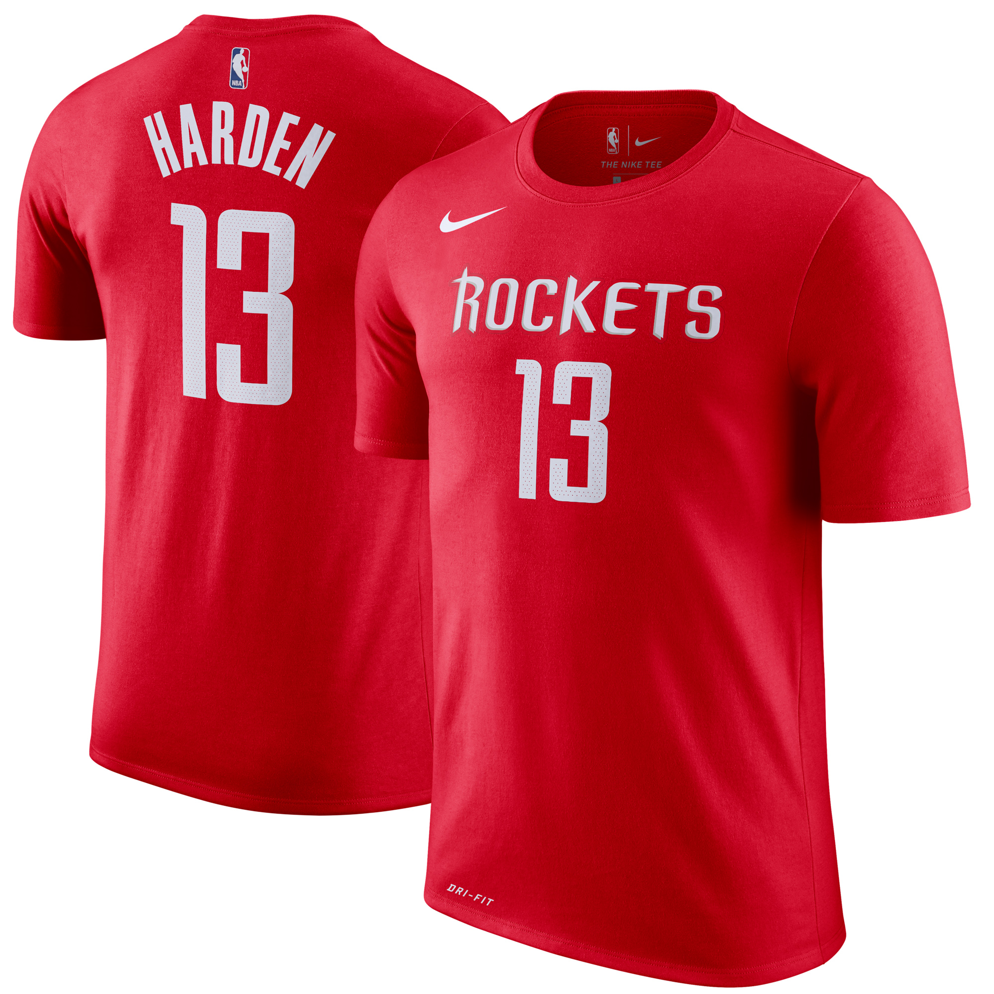 James Harden Houston Rockets Nike Youth Name & Number T-Shirt - Red