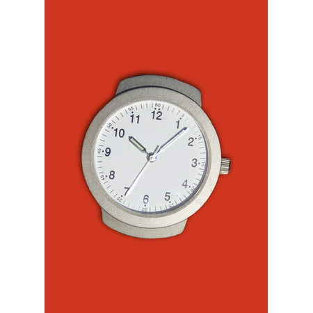 Peel-n-Stick Poster of Time Stopwatch Wrist Watch Time Indicating Clock Poster 24x16 Adhesive Sticker Poster Print