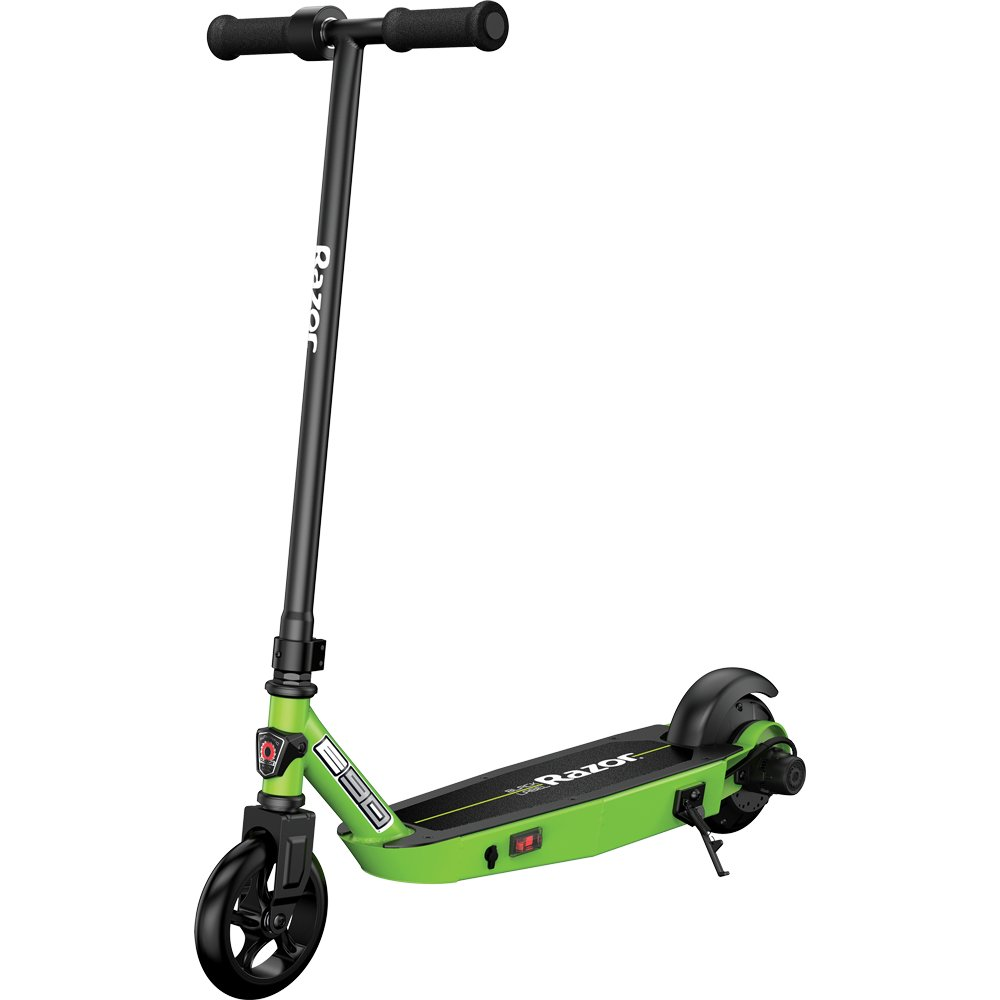 Razor Black Label E90 Electric Scooter for Kids Age 8 and Up, Power Core High-Torque Hub Motor