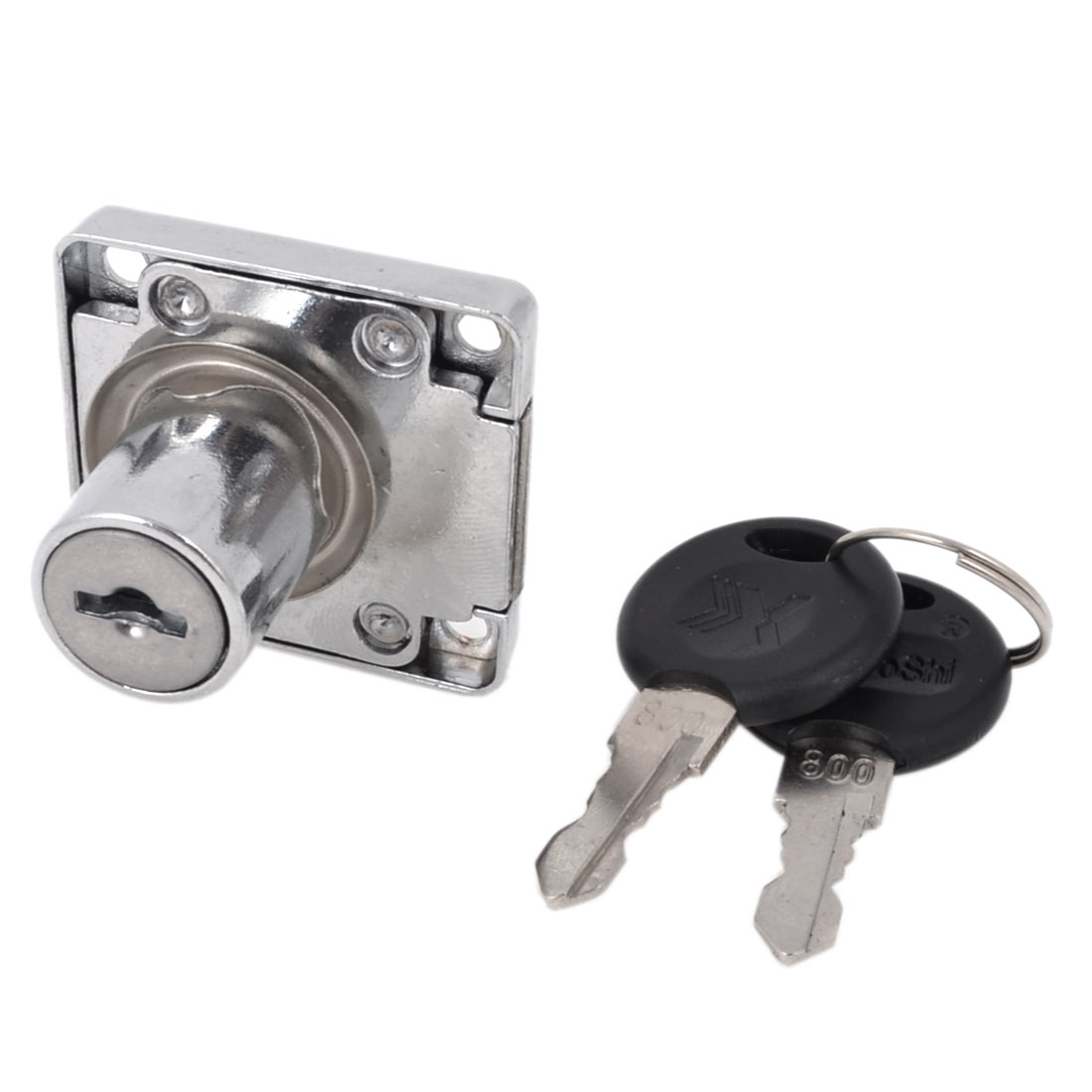 Home Glass Cabinet Single Cylinder Rim Security Door Locks with keys