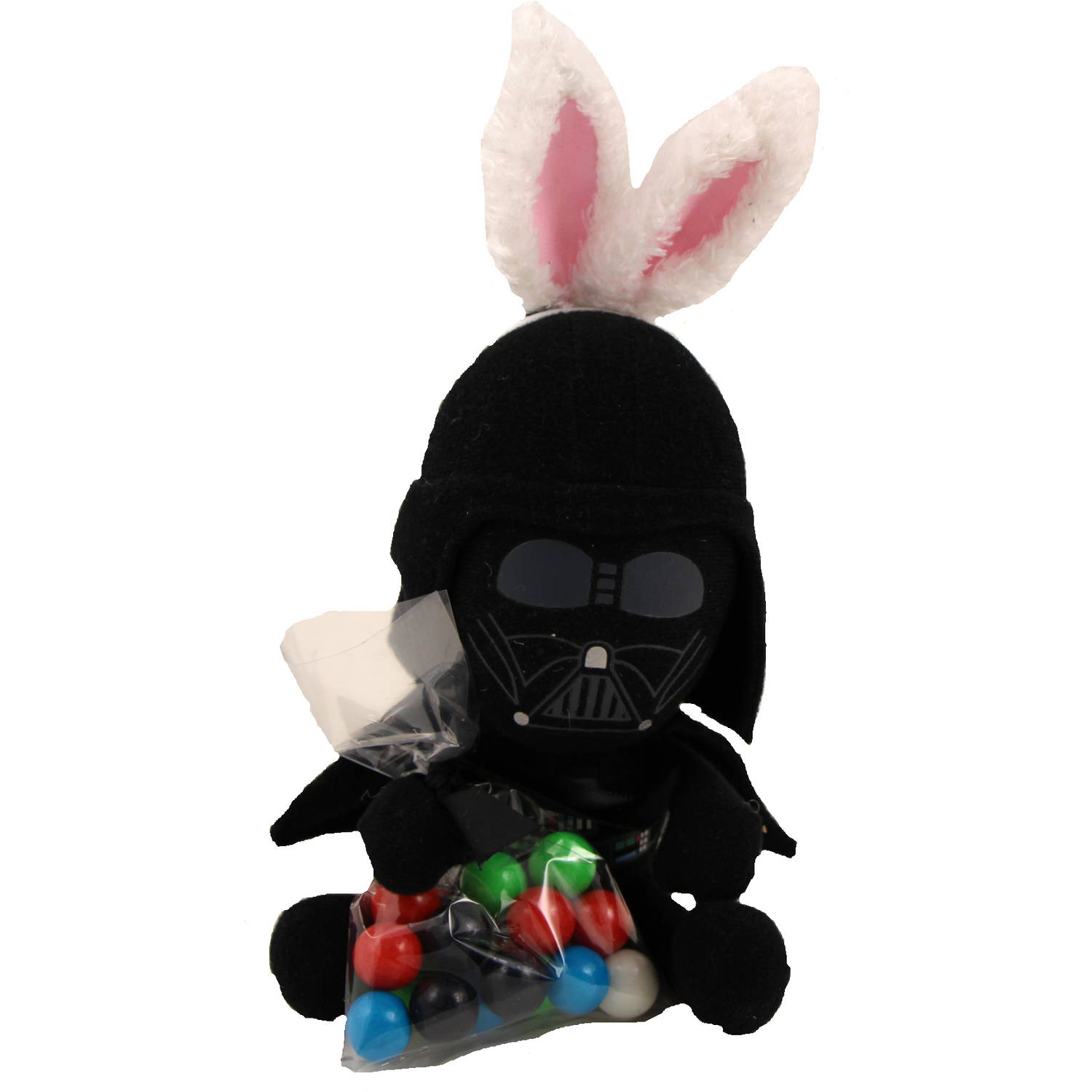 Star Wars Plush with Bunny Ears & Candy Easter Gift Set, 0.9 oz
