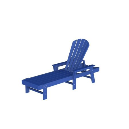 Recycled venice beach outdoor patio chaise lounge chair for 3 in 1 beach chaise lounge
