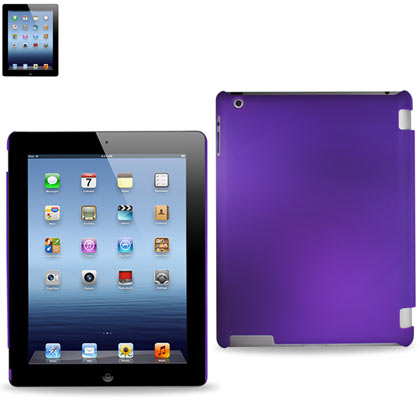 Rubberized Protector Cover Ipad3 Purple