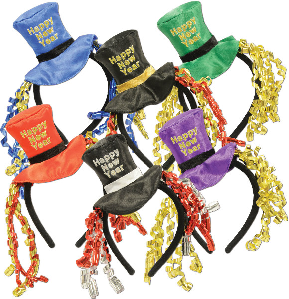 Ddi Happy New Year Headbands (pack Of 60)