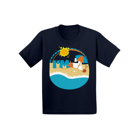 Awkward Styles Infant Shirt for Kids Holiday Shirts 2nd Birthday Beach Party Second Birthday Party Baby Clothes Birthday Gifts for 2 Year Old Second B Day Kid PartyGift for 2 Year Old 2nd