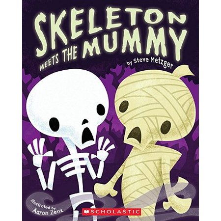 Mummy Halloween Song For Kids (Skeleton Meets the Mummy)