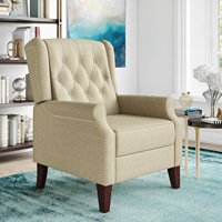 LifeStyle Solutions Elwood Push Back Recliner, Beige