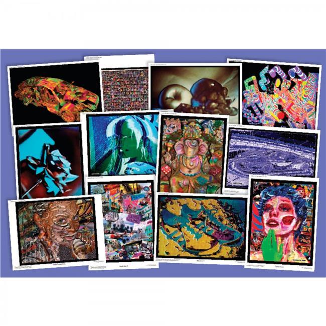 American Educational CP6095 Laurence M Gartel Digital Media Artist