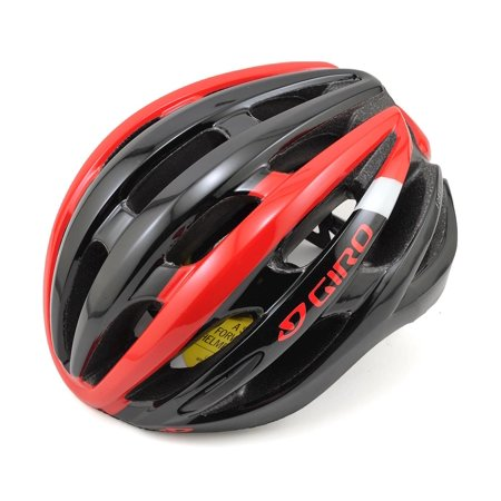 Giro Foray MIPS Road Helmet (Red/Black) (S) (Best Mips Road Bike Helmet)