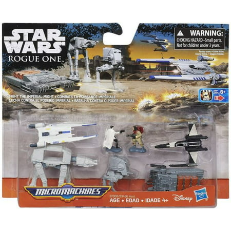 Star Wars  Rogue One Fight The Imperial Might Micro Machines Deluxe Vehicle Pack