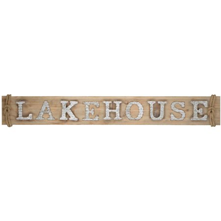 Paragon Lakehouse Wall Sign Decor 9460