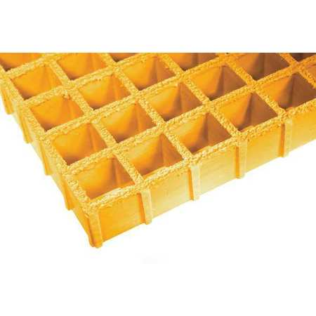 FIBERGRATE 879034 Molded Grating,Span 12 ft. G9947813