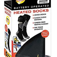 Ideas In Motion Battery Operated Heated Socks (Large (Mens 13-15)) by