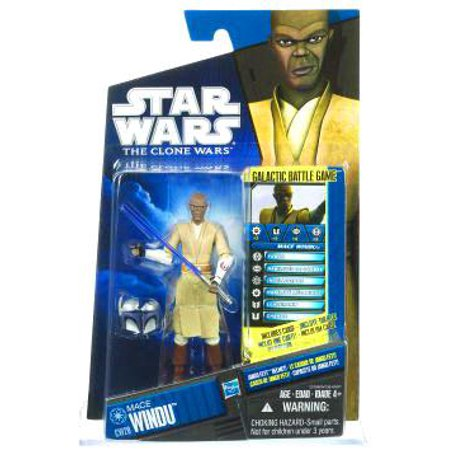 Star Wars-lucas Sw Cw Basic Fig Mace Windu Sa