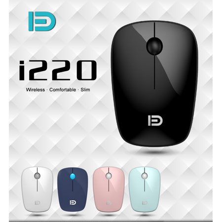 i220 Wireless Mouse,1600DPI 2.4GHz Wireless Gaming Mouse,Portable Mobile Mouse with USB Receiver Best for Notebook PC Laptop Macbook