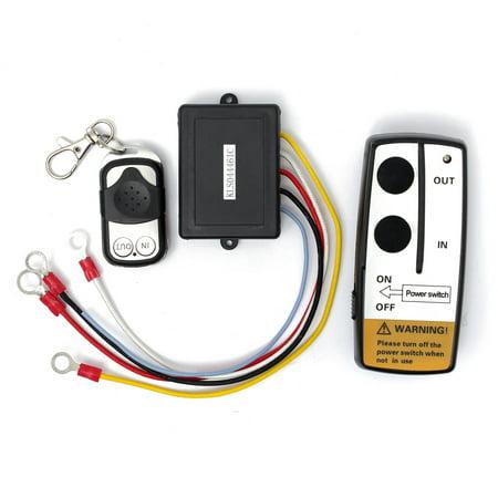 12V Wireless Cordless Wireless Winch Remote Control Switch Unit for Truck ATV SUV Winch New