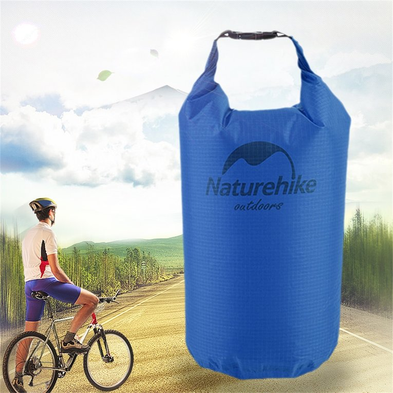 Portable 10L Waterproof Bag Storage Dry Bag for Rafting Sport Equipment,blue by YKS
