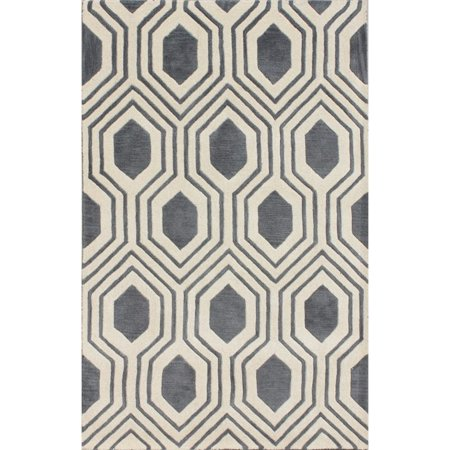 Safavieh Chatham 6' X 9' Hand Tufted Wool Rug in Gray and Ivory - image 7 of 7
