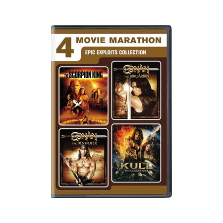 4-Movie Marathon: Epic Exploits Collection (DVD)