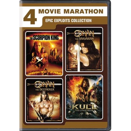 4-Movie Marathon: Epic Exploits Collection (DVD) - Halloween Movie Marathon London
