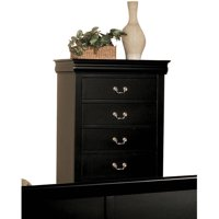 Product Image Acme Furniture Louis Philippe Iii Chest With Five Drawers Multiple Finishes
