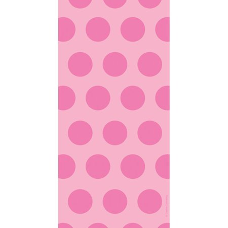 Creative Converting Candy Pink Polka Dot Favor Bags, 20 (Creative Converting Candy)