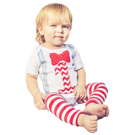 First 1st Birthday Boy Outfit Set Bow Tie Suspenders and Leg Warmers Cake Smash Set Party Baby Boys 12-18 mnths