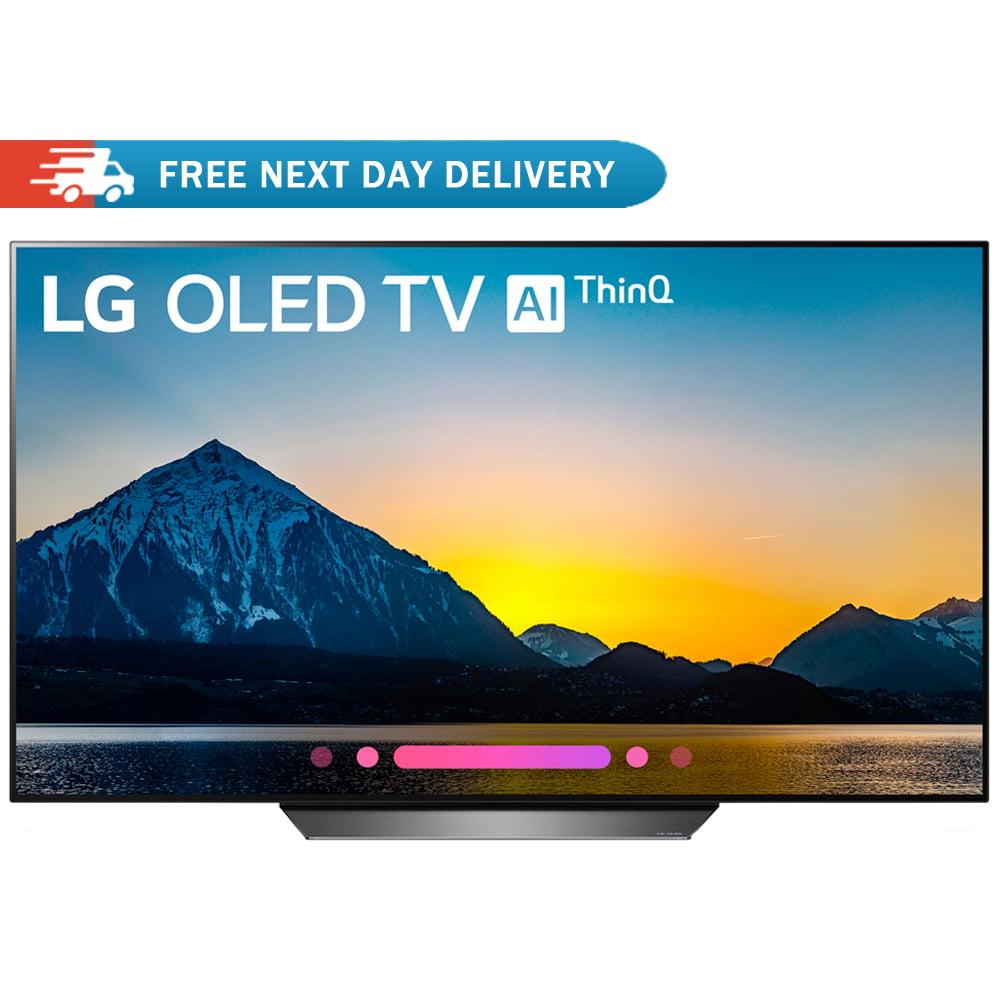 """LG 55"""" Class B8 OLED 4K HDR AI Smart TV 2018 Model (OLED55B8PUA)"""