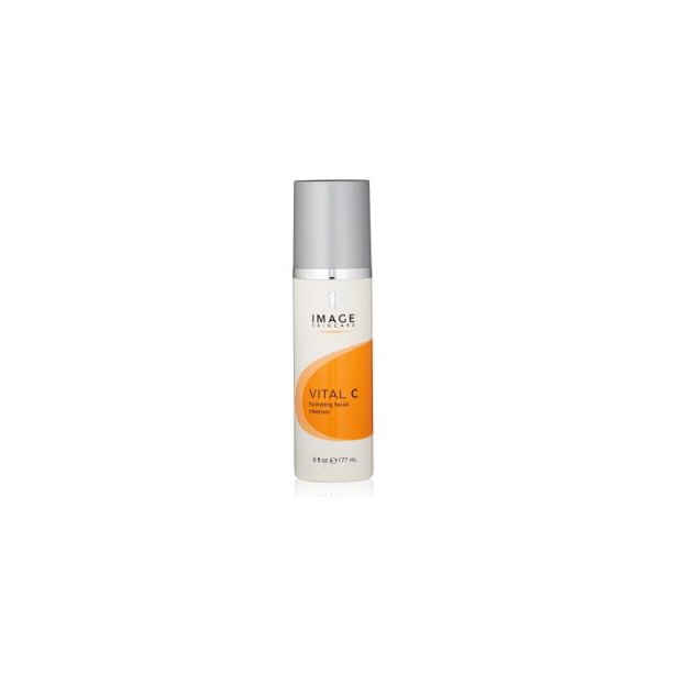 ($30 Value) Image Skin Care Vital C Hydrating Facial Cleanser, Face Wash for All Skin Types, 6 Oz