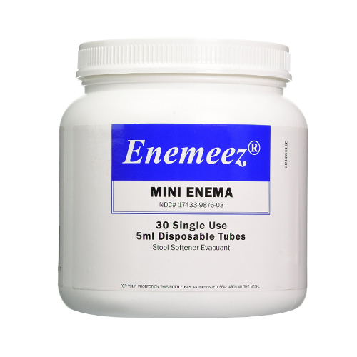 how to use disposable enema