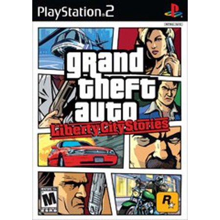 Grand Theft Auto Liberty City Stories - PS2 Playstation 2