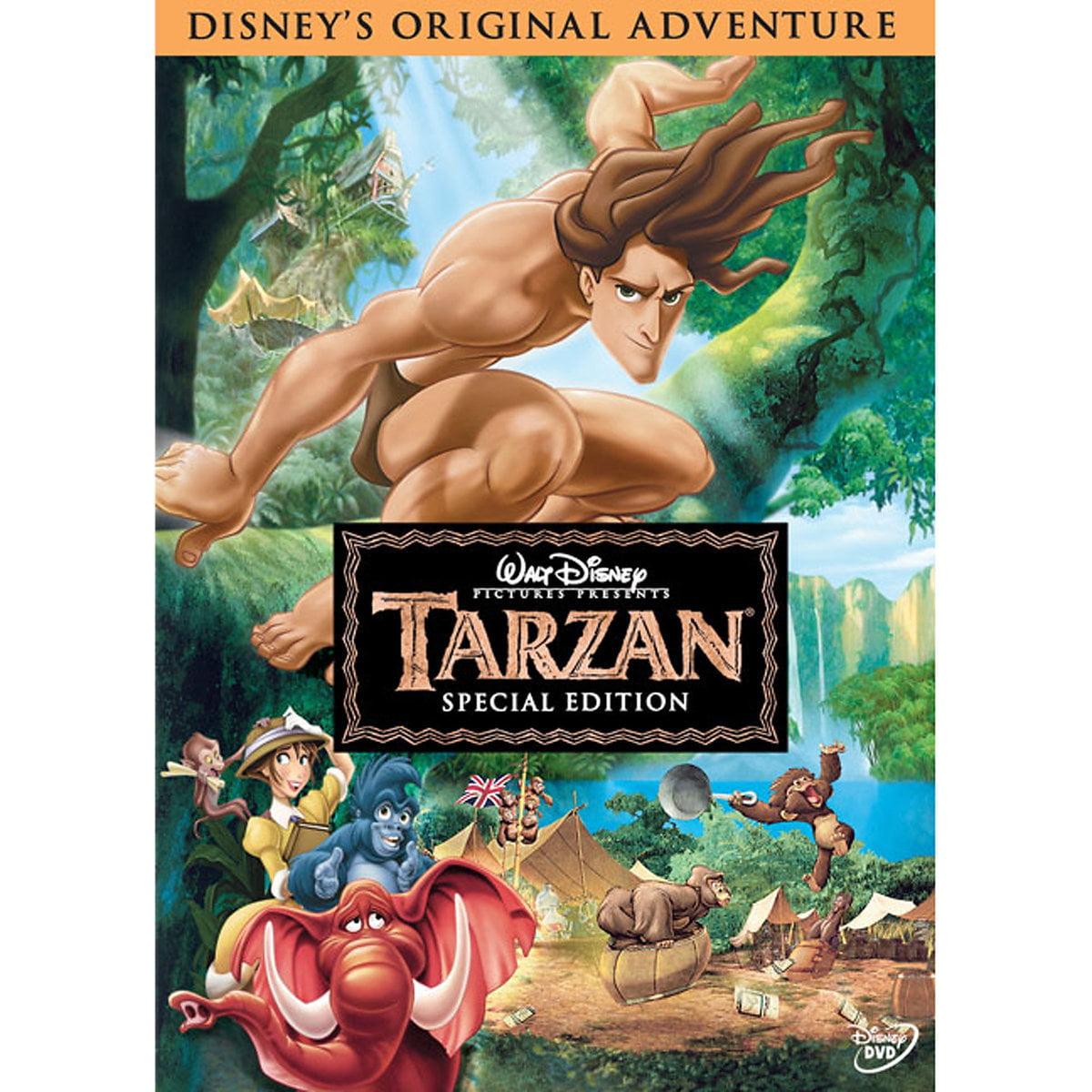 Tarzan Special Edition Dvd Walmart Com Walmart Com