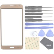 Cell Phones Replacement Parts for Samsung Galaxy J7 J700F J700H J700M J700T J700P Outer Glass Screen Panel[NO LCD,NO Touch](Golden)