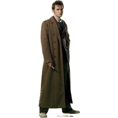 Advanced Graphics Dr. Who Overcoat Cardboard Stand Up by Advanced Graphics