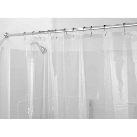interdesign eva 5 5 gauge shower curtain liner various sizes colors. Black Bedroom Furniture Sets. Home Design Ideas