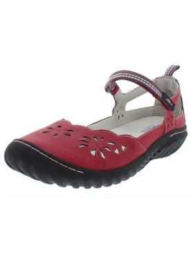 JBU by Jambu Womens Deep Sea Encore Cut-Out Casual Shoes Red 7.5 Medium (B,M)