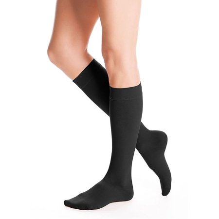 AccuCare Canada Unisex 20-30mmHg Advantage Series Closed Toe Knee Highs (Black) - By Duomed (Medi) - image 1 of 2
