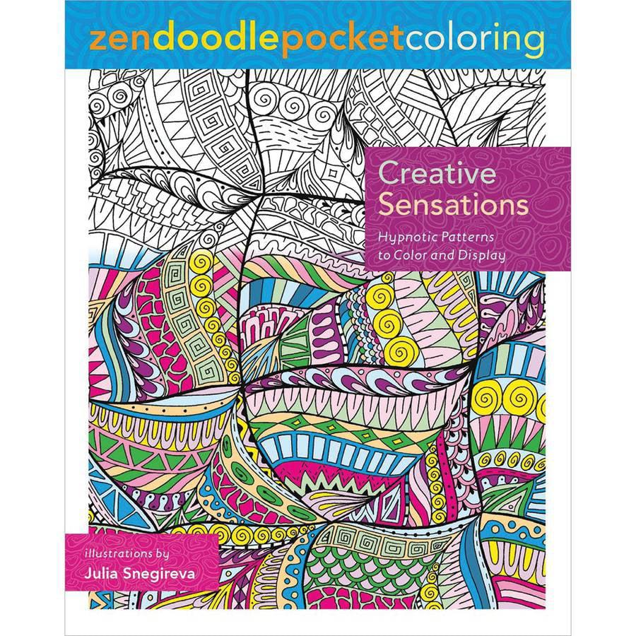 St. Martin's Books Zendoodle Coloring: Creative Sensations - Walmart.com -  Walmart.com