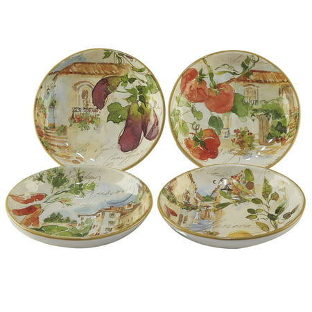 Piazzette Soup/Pasta Bowls (Set of