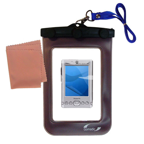 Gomadic Clean and Dry Waterproof Protective Case Suitablefor the Dell Axim x3 x3i to use Underwater